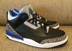 "Air Jordan 3 Retro ""Sport Blue"" (Preview Pics) - EU Kicks: Sneaker Magazine"