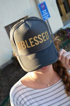 Mother Trucker  Blessed Hat Gorra Personalizadas 7b1c25f62e4