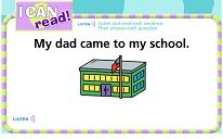 Students will read and listen to each sentence...then click on the identified word.  Good SmartBoard Activity.