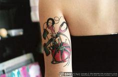 sewing tattoo