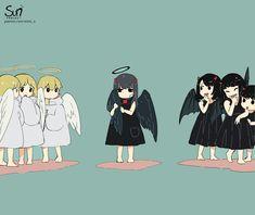 Dark Art Illustrations, Illustration Art, Dessin Old School, Character Art, Character Design, Sun Projects, Sad Drawings, Sad Anime Girl, Deep Art