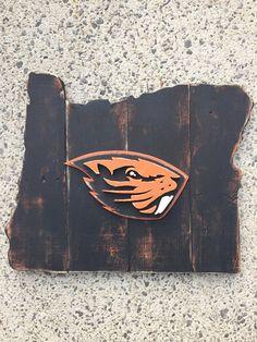 Oregon State University Beavers by TheStateSign.com