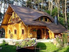 Way cool log home. :o)