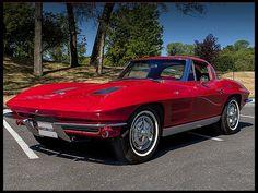 1963 Chevrolet Corvette Split Window Coupe  327/340 HP, 4-Speed