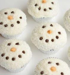 Aranyos hóemberes muffinok cukorral - téli desszert / Mindy -  kreatív ötletek és dekorációk minden napra