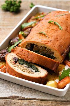 Hp Sauce, Vegetarian Thanksgiving Menu, Thanksgiving Recipes, Tofurkey Thanksgiving, Thanksgiving 2020, Christmas Dishes, Vegan Christmas, Christmas Recipes, Christmas Brunch