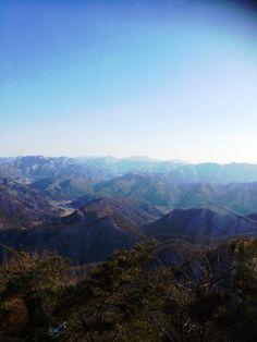 The great Mt. Daedun in Jeonbok, Korea