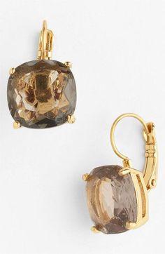 oversized drop earrings