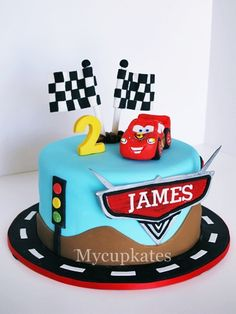 disney cars cake mycupkatesblogspotcom kate kang flickr