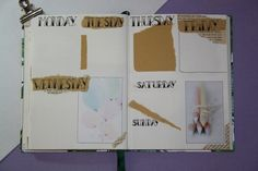 Bullet journal #4 - Mei, weekly spread Weekly Spread, Bullet Journal, Dreams, Blog, Handmade, Hand Made, Blogging, Handarbeit