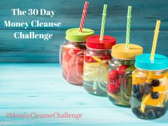 Join me for the 30 Day ‪#‎MoneyCleanseChallenge‬ - the perfect daily dose of inspiration, action and guidance to empower you to make big strides in your ‪#‎financialwellness‬. If you join me, I can guarantee that you will have more money in your bank account, experience more joy and will have the momentum for a financial bliss snowball.