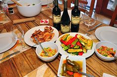 Yummy Food With Jeriko Estate Wines