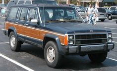 1986 Jeep Wagoneer - This car was our first car with a car phone Jeep Cherokee Limited, Jeep Grand Cherokee, First Time Driver, Classic Car Insurance, Jeep Wagoneer, Compact Suv, Older Models, Car Travel, Dream Cars