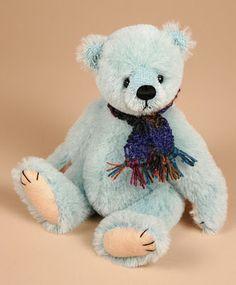 'Little Blue'  Created by Paula Carter  www.allbear.co.uk    #teddy #bear #bears  Bearing All