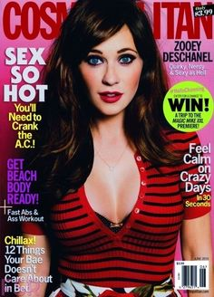 Zooey Deschanel. THIS OUTFIT! :)