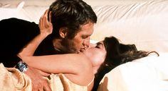 Steve McQueen (wearing a Rolex Submariner) and Kathryn Harrold in The Hunter, 1980 Steve Mcqueen Rolex, Actor Steve Mcqueen, Rolex Submariner, Stylish Watches, Cool Watches, Luxury Watches, Ali Macgraw Steve Mcqueen, Stainless Steel Rolex, Movie Titles