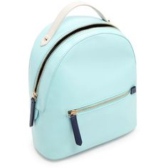 Forever21 Faux Leather Mini Backpack ($25) ❤ liked on Polyvore featuring bags, backpacks, backpack bags, miniature backpack, faux leather backpack, forever 21 and blue bag