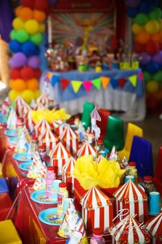 An awesome first birthday for Kailash celebrated with this very colourful and fun carnival theme First Birthday Parties, First Birthdays, Children Playroom, Carnival Themes, Event Photography, Birthday Candles, Events, Awesome, Party