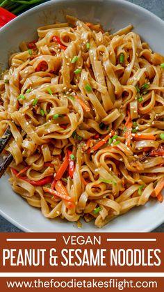 Three Easy Noodle Recipes (Vegan & Budget Friendly) recipes chicken recipes crockpot recipes easy recipes for dinner recipes healthy food recipes Vegan Noodles Recipes, Vegan Dinner Recipes, Vegan Dinners, Cooking Recipes, Budget Recipes, Easy Noodle Recipes, Vegan Pasta, Vegan Sesame Noodles, Tasty Vegan Recipes