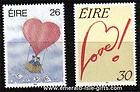 Love Stamps Ireland 1990