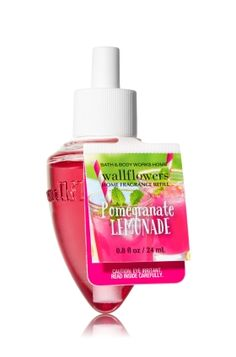 Pomegranate Lemonade - Wallflowers Fragrance Refill - Bath & Body Works - Fragrance that welcomes you home! Combine with your favorite Wallflowers Fragrance Plug, sold separately, to scent any room with noticeable fragrance for weeks and weeks.