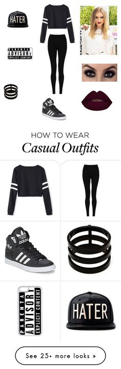 """""""Casual with perrie"""" by theycallmepoopey on Polyvore featuring M&S Collection, adidas, CellPowerCases and Repossi"""