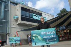 Mielenosoitus delfinaarion katolla | Oikeutta eläimille
