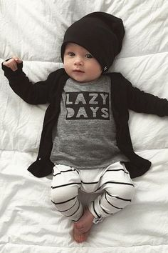 2016 herbst Neue Mode jungen kleidung babyspielanzug langarm brief t-shirt + hos… 2016 Autumn New Fashion baby boy clothes baby romper long sleeve letter t-shirt + pants 2 / pcs newborn baby girl clothes set Baby Boy Fashion, Fashion Kids, Newborn Fashion, Fashion 2016, Toddler Fashion, Little Boy Fashion, Autumn Fashion, Style Fashion, Fashion Shoes