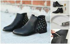 Chaussures cloutées... ...
