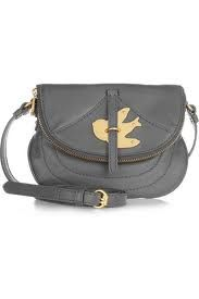 This Marc Jacobs is a cute little bag,I actually own this I bought it with my own money it's cute mines black you can buy it at Nordstroms It's actually a great price the little one that I have cost $130.00
