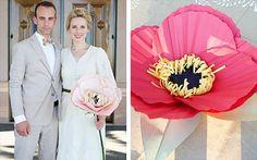 Сделай сам - один цветок вместо букета невесты