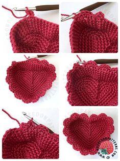 Free Form Crochet, Quick Crochet, Love Crochet, Knit Crochet, Crochet Bags, Crochet Basket Pattern, Crochet Patterns, Crochet Crafts, Crochet Projects