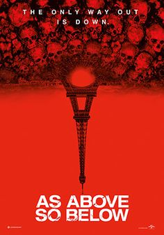 As Above So Below. Found-Footage movie that takes place in Paris Catacombs. Seen better, but I love the setting.