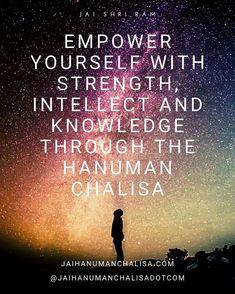 Empower YOURSELF with STRENGTH, INTELLECT and KNOWLEDGE through the HANUMAN CHALISA. JAI SHRI RAM! #lordhanuman #hanuman #hanumanasana #shriram #bhagavadgita #vishnu #shiva #bajrangbali #jaibajrangbali #jaishrikrishna #hanumanchalisa #hanumanjayanti #hanumanji #hanumantemple #jaihanuman #hanumantattoo #hanumangarh #hanumanworld #hanumanfestival #hanumanmandir #siyaram #ayodhya #mahabharat #ramayan #sankatmochan #sankatmochanmahabalihanuman #hanumandada #hanumantra #jayhanuman… Hanuman Chalisa Benefits, Bhagavad Gita, Asana, Knowledge, Lord, Movie Posters, Film Poster, Billboard, Film Posters