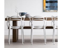 MASTER - Dining Chair - White