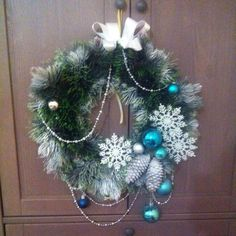 Christmas wreath!