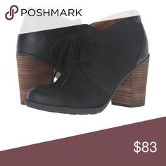 """Adorable Tommy Hilfiger Booties Your classic look is perfected in the Tommy Hilfiger high heel black leather oxfords. These adorable booties feature a lace-up closure, almond toe, & chunky heel. These are new with box.   Measurements: Heel Height: 3.25"""" Shaft: 4 """" Tommy Hilfiger Shoes Ankle Boots & Booties"""