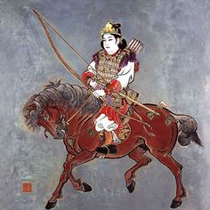 Empress Jingu was an early Japanese ruler who came to power with the death of her husband. She was an infamous warrior who led Japan into battle with Korea while pregnant. Bravery Awards, Greco Persian Wars, Space Knight, Military Honors, Female Samurai, Ancient World History, Warrior Queen, Japanese Prints, Japan Art