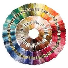 100x Different Color Cotton Embroidery Floss Skeins - Free Shipping from Clever Clad