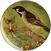Waechtersbach Nature Set of 4 Bird Salad Plates