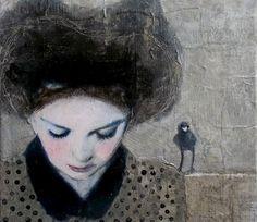 Women in art: Замечтаната Véronique Paquereau