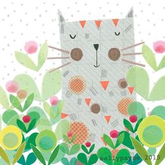 A bit of an absence from me recently - some news though looks like we are getting a kitten! #kitten #cats #illustration #pattern