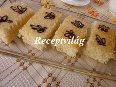 Bögrés kókuszos sütemény
