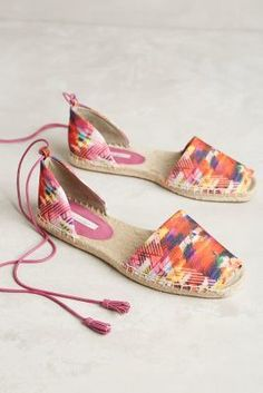 Cynthia Vincent Farie Espadrilles #anthroregistry