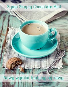 Cappuccino in the ubiquitous turquoise cup and saucer But First Coffee, I Love Coffee, My Coffee, Coffee Cups, Tea Cups, Coffee Maker, White Coffee, Sweet Coffee, Coffee Tables