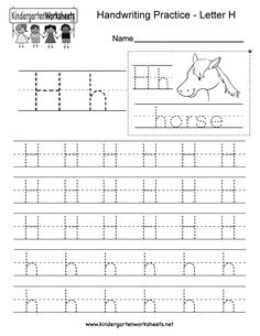 free printable letter h tracing worksheets for preschool free writing practice worksheets for. Black Bedroom Furniture Sets. Home Design Ideas