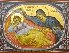 Byzantine Icons, Byzantine Art, Religious Icons, Religious Art, Orthodox Catholic, Fortune Cards, Blessed Mother Mary, Orthodox Icons, Angel Art