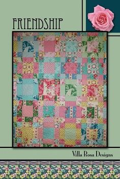 Friendship - A Villa Rosa Pattern (65 x 80)