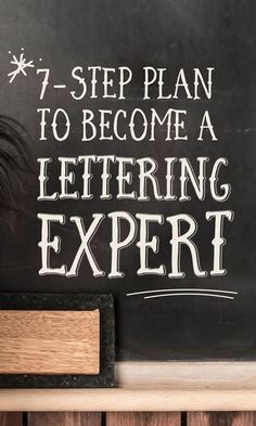 How to, hand,lettering,7 step plan, calligraphy,font, tips,tricks,letters.