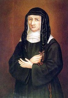 Louise de Marillac (born in died aged She is the co-founder, with St. Vincent de Paul, of the Sisters of Charity; patroness of Christian social workers. Catholic Saints, Patron Saints, John Vianney, Daughters Of Charity, Saint Quotes, Costume, Little Sisters, Beautiful Images, Marie
